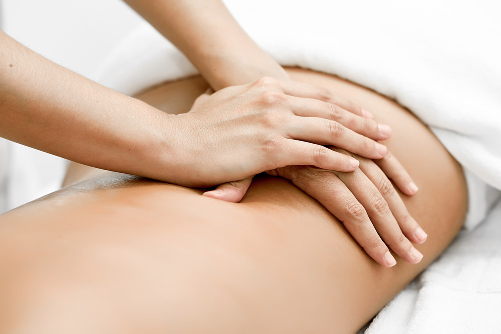 Mahorko Wellnessbereich Massage