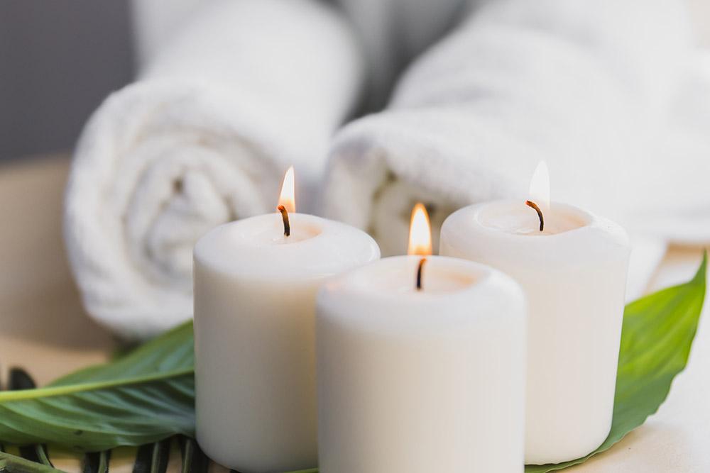Mahorko Wellnessbereich Massage