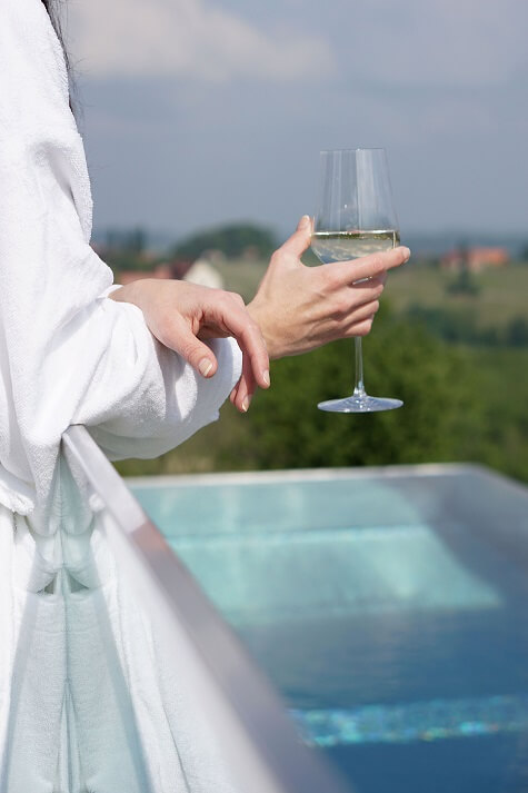 Mahorko Wein Wellness Wasserbüffel